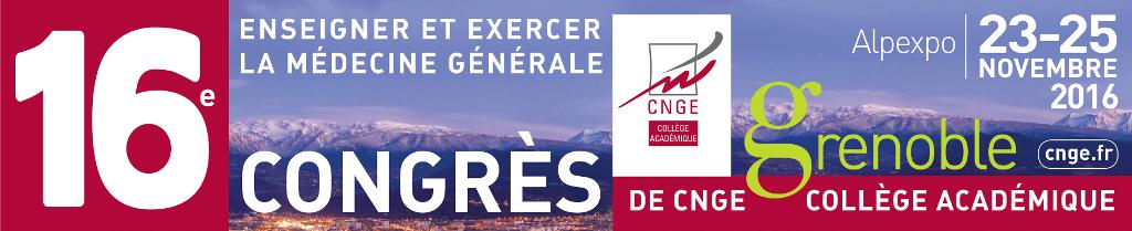 Congrès CNGE - Grenoble 2016